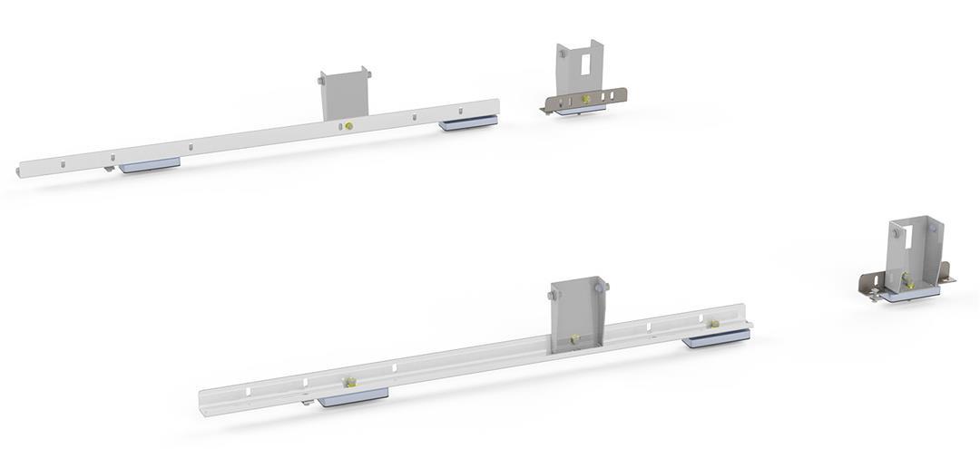 4081T KargoMaster Ladder Rack Mounting Hardware Mounts Kargomaster