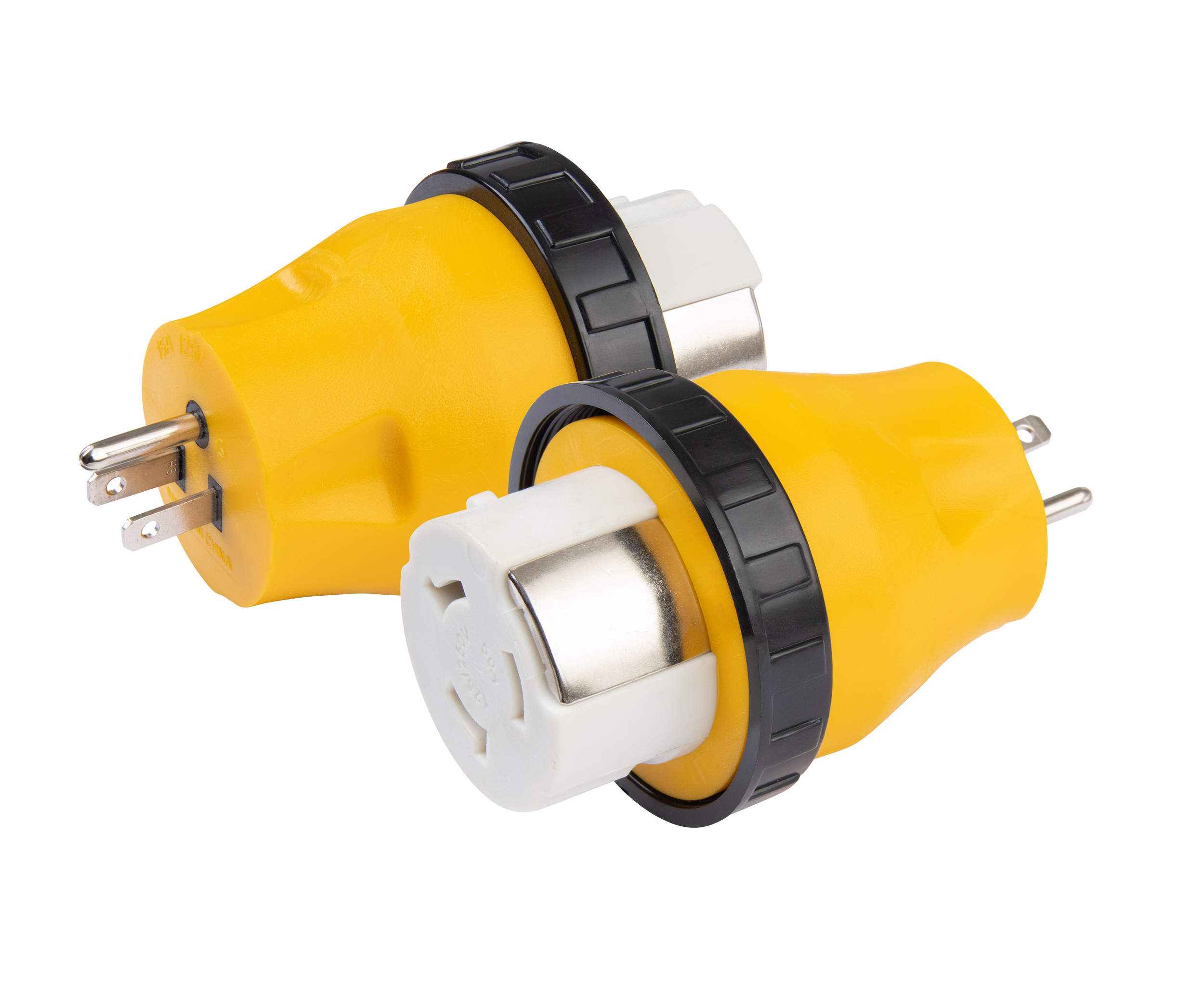 Marinco Pigtail Adapter 50 Amp to 15 Amp