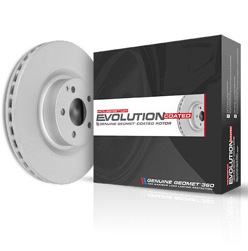 Power Stop JBR544EVC Rear Evolution/ Geomet Coated/Brake Rotor